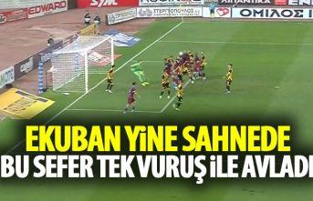Ekuban yine sahnede! Trabzonspor'u öne geçirdi!