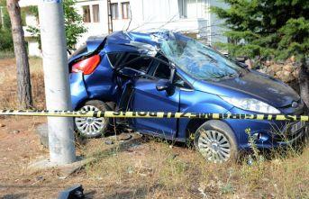 Trabzon yolunda kaza - Özel harekat polisi hayatını kaybetti