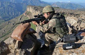 Yılbaşından beri 635 PKK'lı teröristi etkisiz hale getirdik