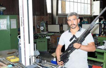Güvenlik güçlerine yerli yeni makineli tüfek