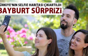 Türkiye'nin Selfie haritası çıkarıldı!...