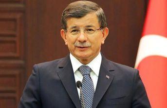 """Ahmet Davutoğlu: """"O defterler açılırsa birçok kişi insan içine çıkamaz"""""""