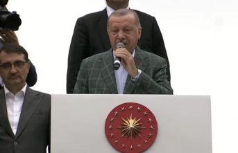 Cumhurbaşkanı Erdoğan Artvin'de müjdeyi verdi...
