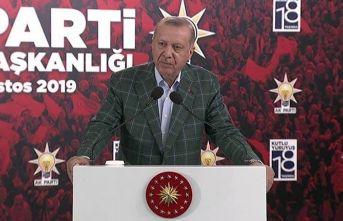 """Cumhurbaşkanı Erdoğan: """"Önce millet memleket diyen herkesle çalışmaya hazırız"""""""