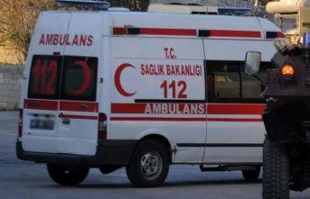 Zırhlı araç devrildi: 1 polis şehit, 5 polis yaralı