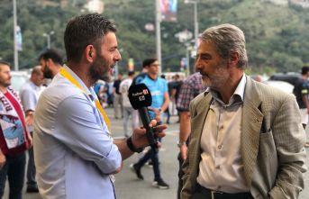 Bakan Albayrak'ın oğlu Akif'in Trabzonspor maçında...