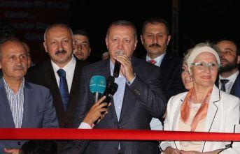 Cumhurbaşkanı Erdoğan Arakale Restaurant'ı açtı