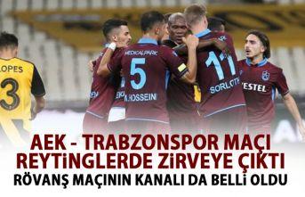 Trabzonspor zirvede yer aldı!