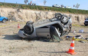 Aksaray'da feci kaza: 1 ölü, 3 yaralı