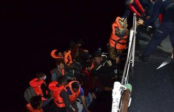 Bir haftada 4 bine yakın düzensiz göçmen yakalandı