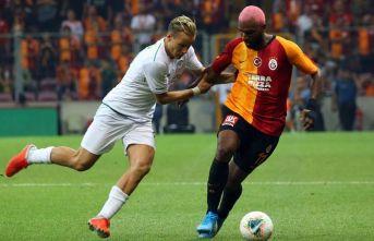 Galatasaray uzatmalarda berabere