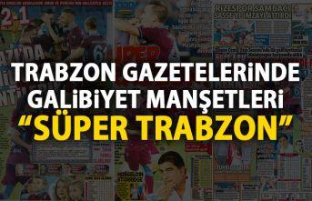 Trabzon Gazetelerinden galibiyet manşetleri 26.08.2019