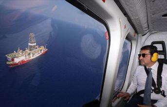 'Türkiye Doğu Akdeniz'deki haklı davasından...