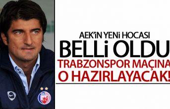 Trabzonspor'un rakibinde yeni hoca belli oldu
