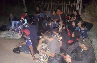 48 kaçak göçmen yakalandı!