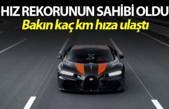 Bugatti Chiron dünya hız rekorunu kırdı