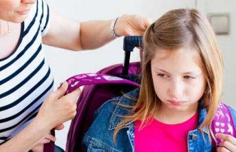 """""""Okul değil, tatilin bitmesi çocukları strese..."""