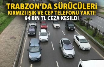 Trabzon kırmızı ışık konusunda sınıfta kaldı