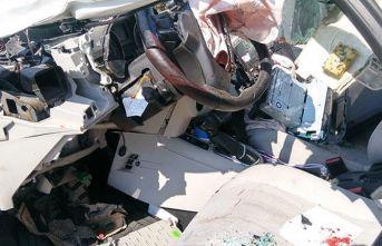 Denizli'de trafik kazası!