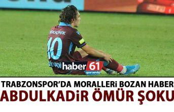 Trabzonspor'da Abdulkadir Ömür şoku! 6 hafta...
