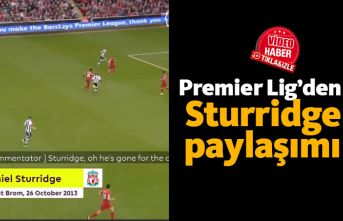 Premier Lig'den Sturridge paylaşımı