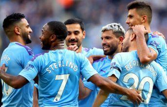 Manchester City'den tarih geçen kadro