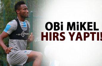 Obi Mikel hırs yaptı!