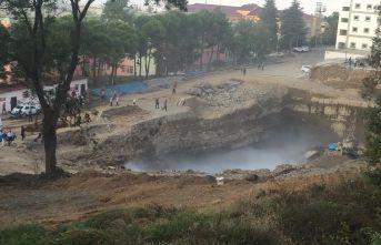 Trabzon'da korkutan patlama!