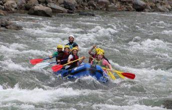 Fırtına Deresi'nde rafting heyecanı
