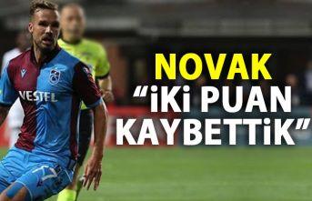 Novak: İki puan kaybettik!