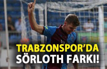 Trabzonspor'da Sörloth farkı!