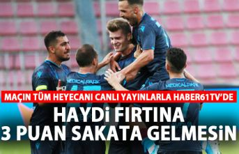 Trabzonspor - Gençlerbirliği maçı saat kaçta, hangi kanalda?