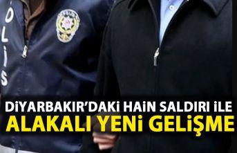 Diyarbakır'daki hain saldırıyla ilgili yeni...