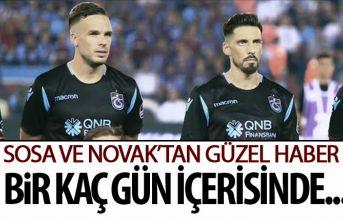 Trabzonspor'da Sosa ve Novak müjdesi