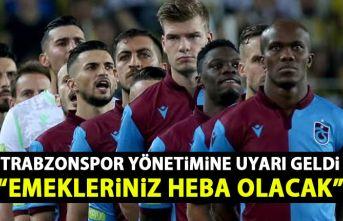 Trabzonspor Divan üyesinden Trabzonspor'a uyarı: Emekleriniz heba olacak
