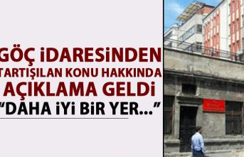 Göç İdaresi Trabzon İl Müdürlüğü'nde açıklama:...