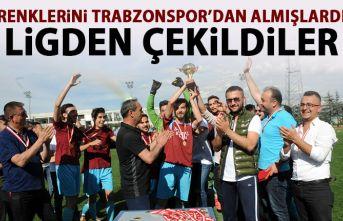 Renklerini Trabzonspor'dan almışlardı! Ligden çekildiler!