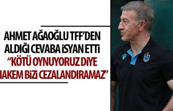 Ağaoğlu, TFF'de alınan cevaba isyan etti:...