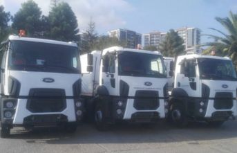 Ankara'dan Trabzon'a 6 temizlik aracı