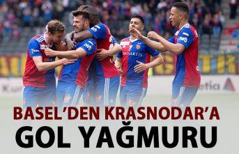 Basel'den Krasnodar'a gol yağmuru