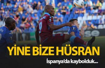 Trabzonspor'dan kötü başlangıç!