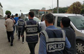 39 kişi gözaltına alındı