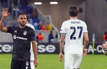 Beşiktaş, Bratislava'ya yenildi