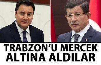 Ali Babacan-Davutoğlu Trabzon'u mercek altına...