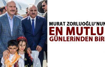 Murat Zorluoğlu'nun en mutlu günlerinden biri..