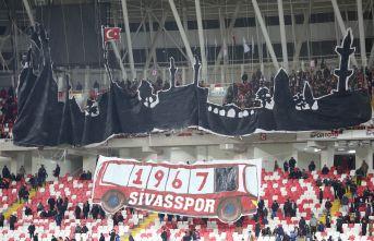 Sivasspor taraftarından Trabzonspor maçına özel hazırlık