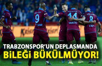 Trabzonspor'un deplasmanda bileği bükülmüyor!