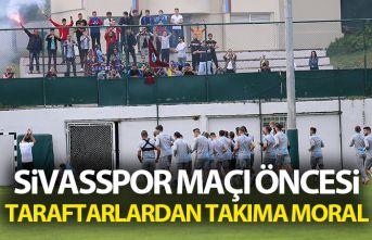 Trabzonspor'da Sivasspor maçı hazırlıkları...