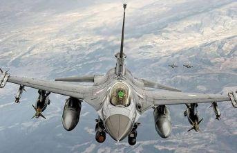 F-16'lar Suriye'de uçtu