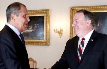 Lavrov ve Pompeo'dan özel görüşme